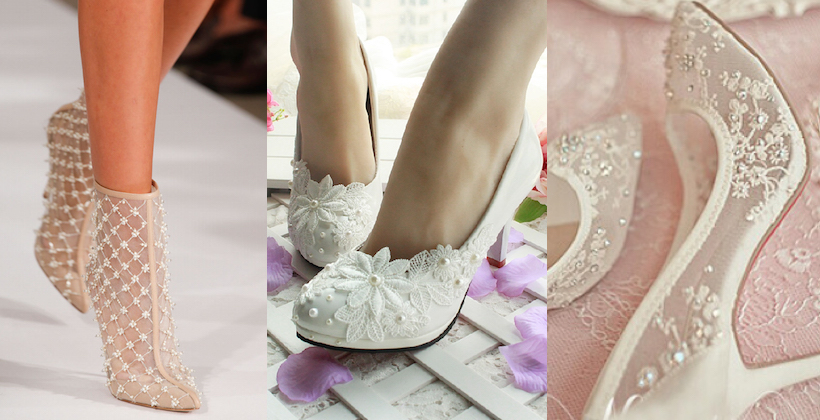 Tendenze scarpe sposa primavera-estate 2015