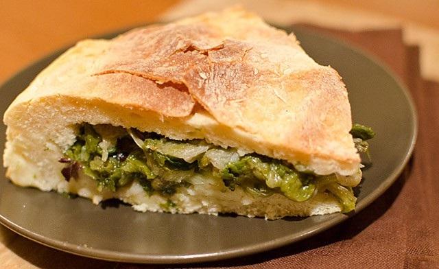 Ricetta facile pizza rustica con i broccoli