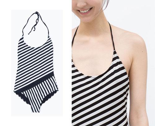 Costume intero Zara estate 2015 prezzi