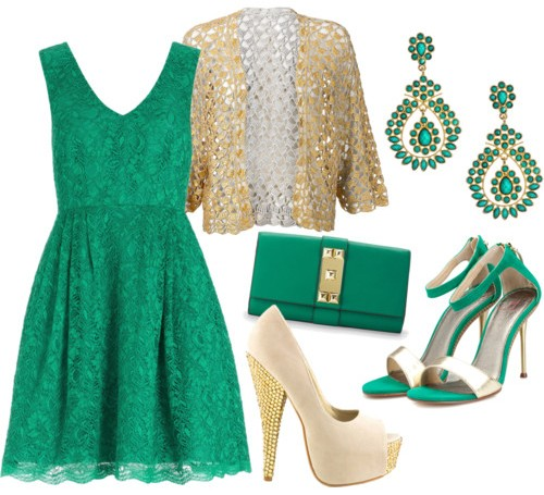 Quale colore di scarpe abbinare a vestito verde