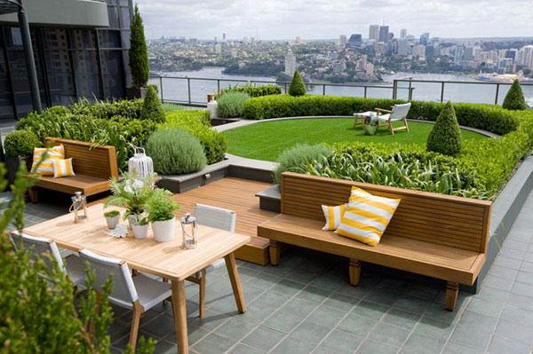 Come creare un giardino in terrazzo