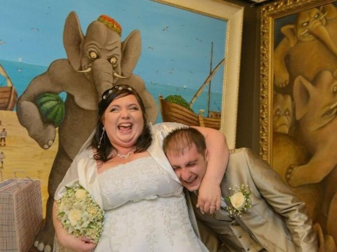 Classifica 5 foto di matrimonio più brutte di sempre