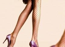 Come indossare le calze a rete