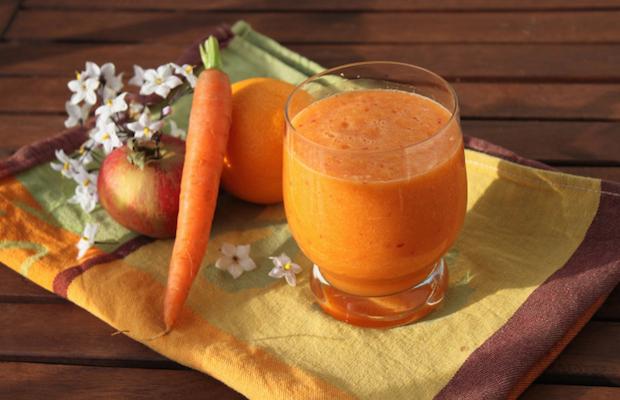 Ricetta frullato di carote