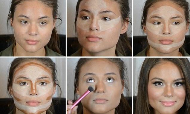 Come fare contouring viso tondo