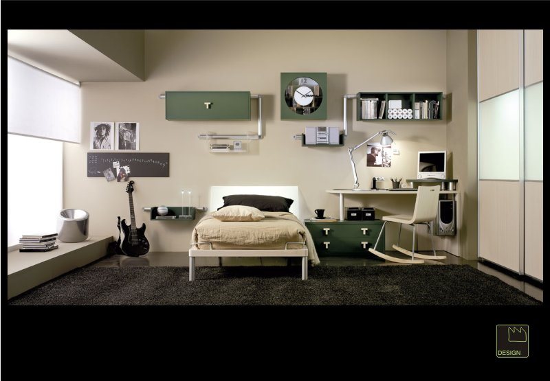 Camere da letto per single donne magazine for Camere per single arredamento