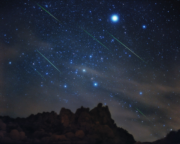 Meteo 10 agosto stelle cadenti San Lorenzo