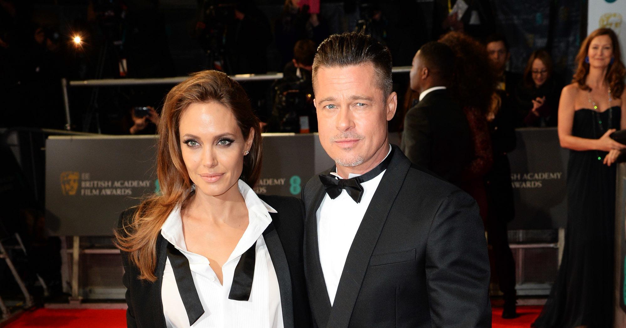 Angelina-Jolie-Brad-Pitt-2014-BAFTA-Red-Carpet