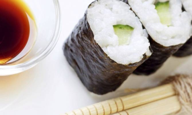 Ricetta sushi vegetariano