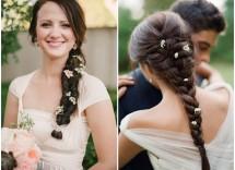 Dieci acconciature con i fiori per la sposa
