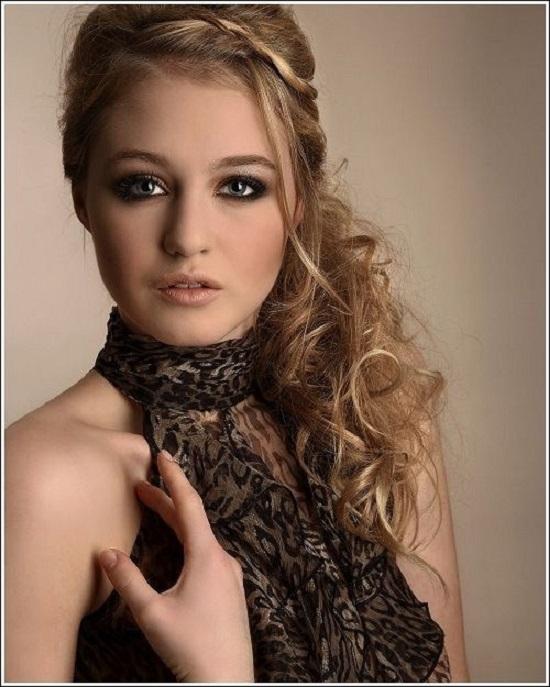 Acconciature per i 18 anni- capelli ricci