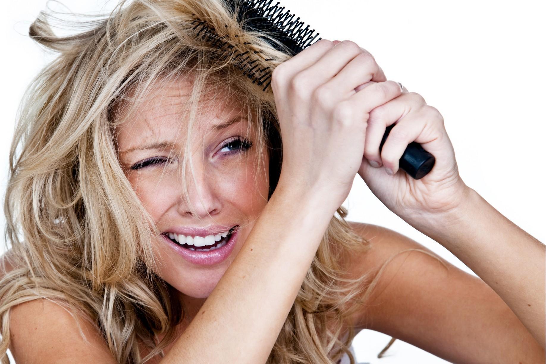 Shampoo per capelli crespi
