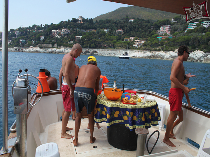 Pescaturismo per bambini in Liguria