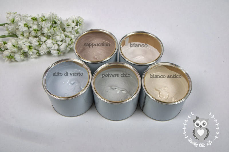 Quale vernice usare per shabby chic?