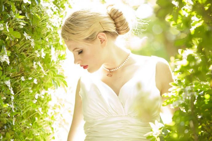 Chignon per le spose d'estate