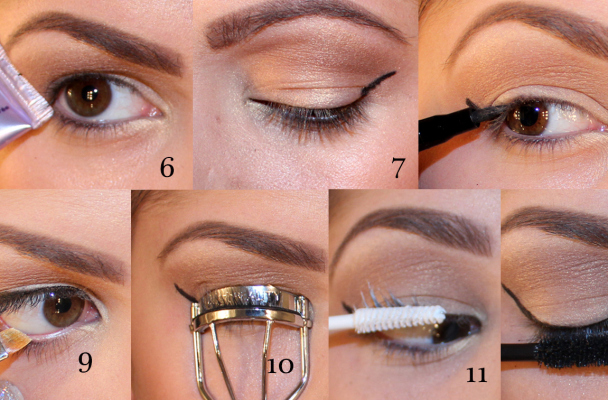 Tutorial cat eye Coco Rocha