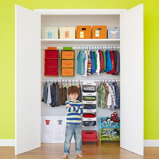 Come organizzare pulizie dell' armadio