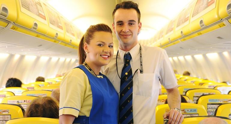 Come diventare assistente di volo Ryanair