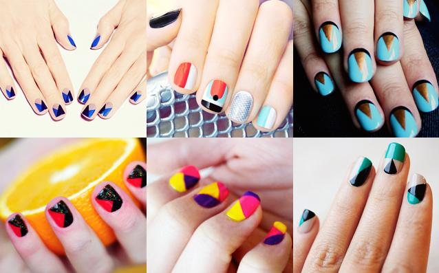 Idee originali nail art glamour 2015