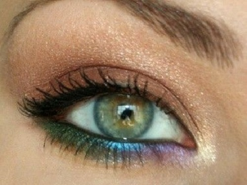 Come truccarsi occhi verdi