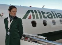 assistente di volo Alitalia
