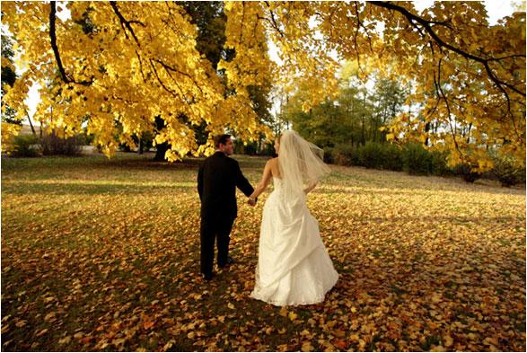 Cinque motivi per sposarsi in autunno