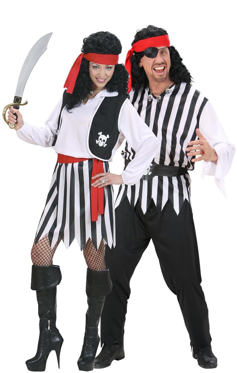 Idee costume coppia pirati per Halloween