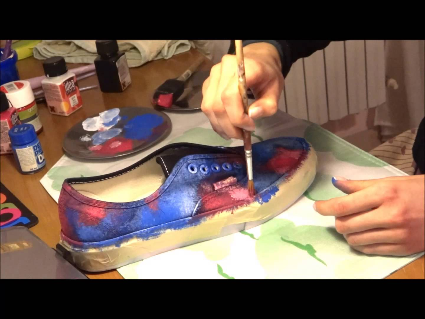 Come Colorare Le Scarpe come personalizzare le vans | donne magazine