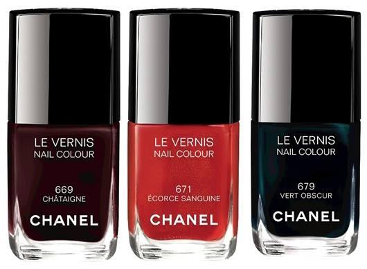 Smalti Chanel autunno 2015