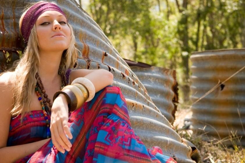 Come creare uno stile hippie