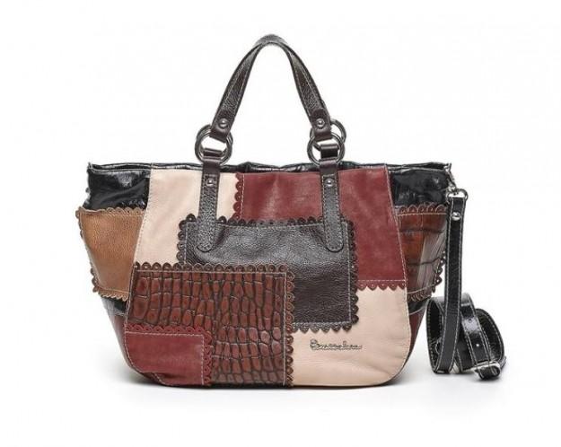 Come abbinare una borsa patchwork