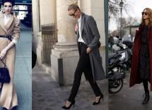Come indossare un cappotto lungo