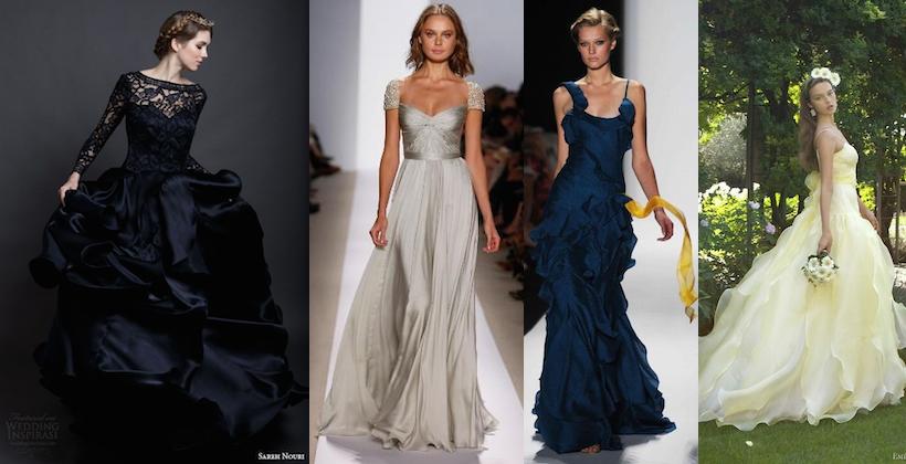 10 abiti da sposa colorati più belli del 2016 - Donne Magazine