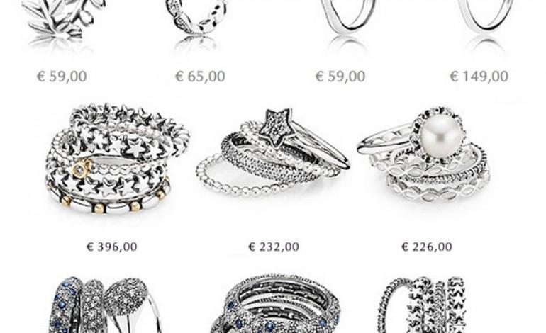 anello pandora fiocco costo