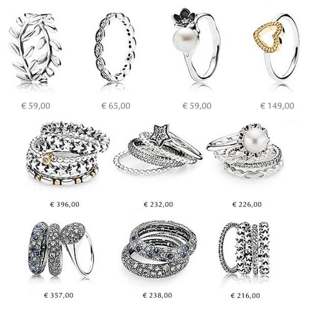 anello simili pandora