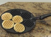 Cinque modi per usare padella per waffle