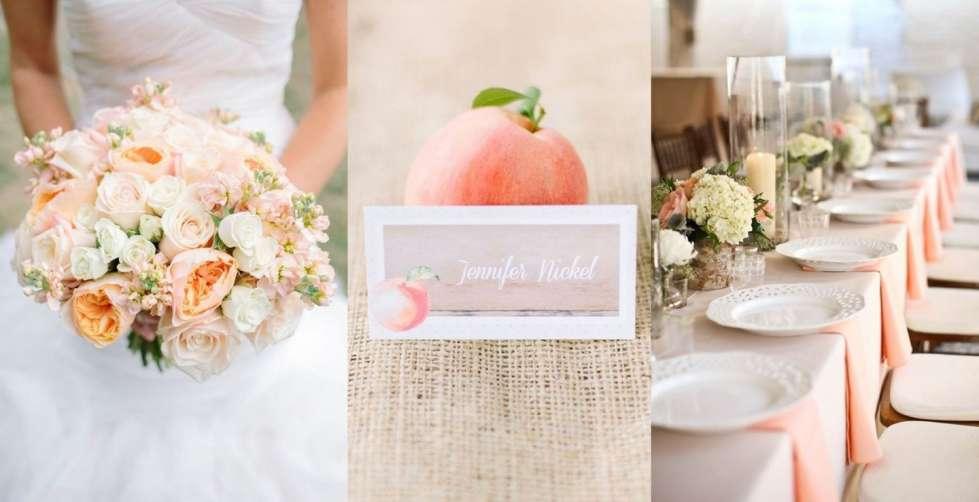 Matrimonio Simbolico Come Fare : Come fare decorazioni matrimonio color pesca donne magazine