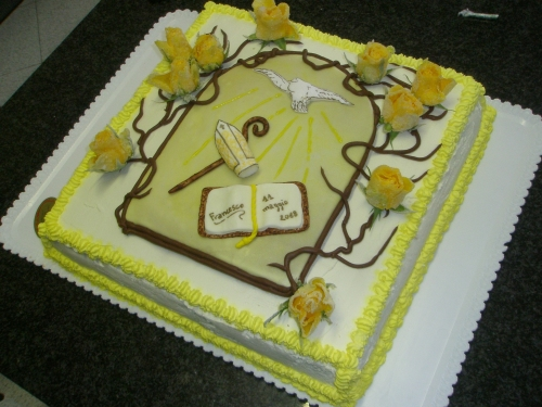 decorazioni torte per cresima donne magazine