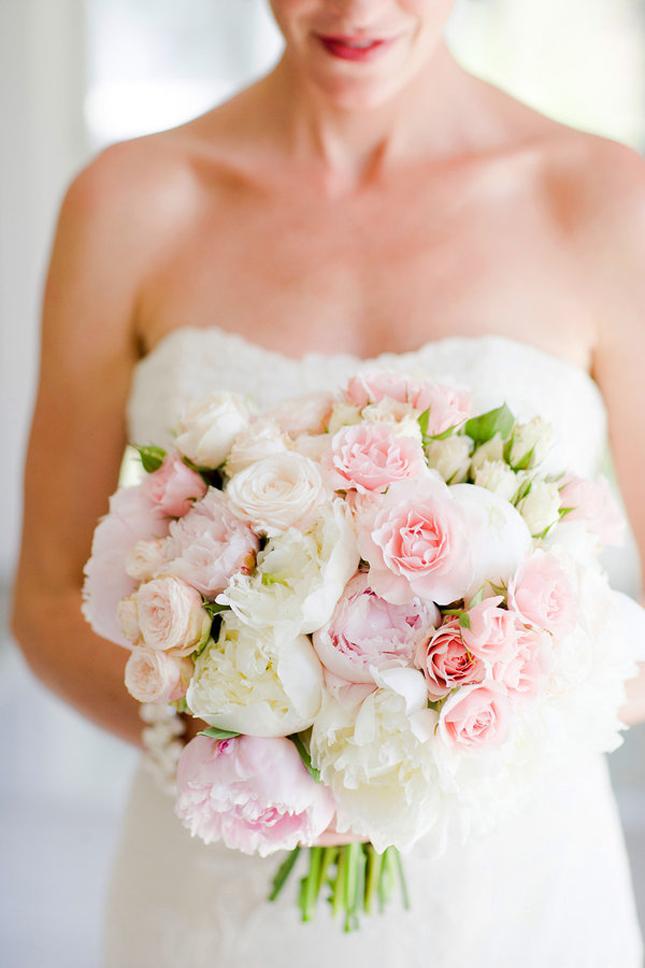 Come fare bouquet sposa con peonie