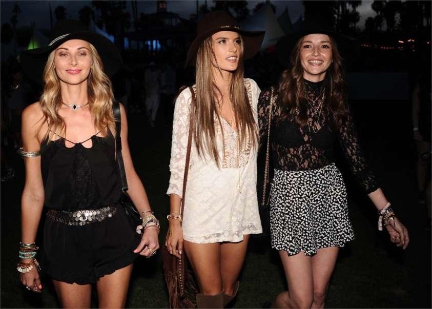 5 look vip stile Coachella Festival