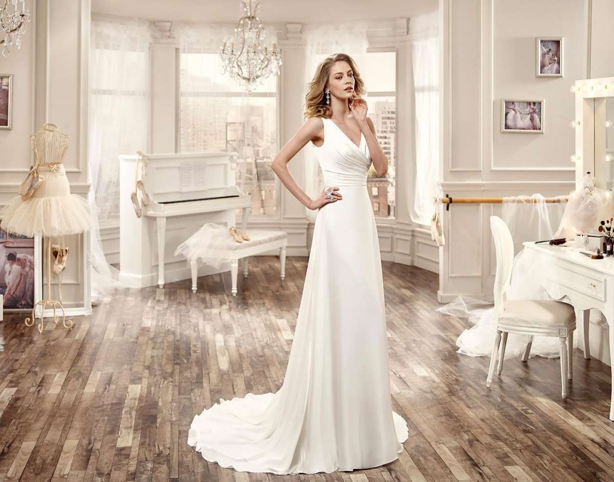 Abiti da sposa in seta per estate 2016