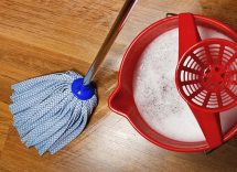 Come pulire parquet molto sporco