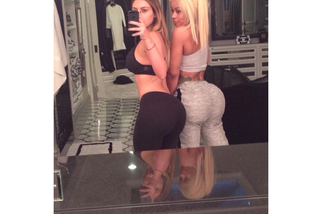 Kim Kardashian sedere, le foto su Instagram
