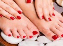 smalto mani piedi abbinamenti