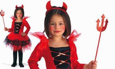 Come fare trucco diavoletta da bambina