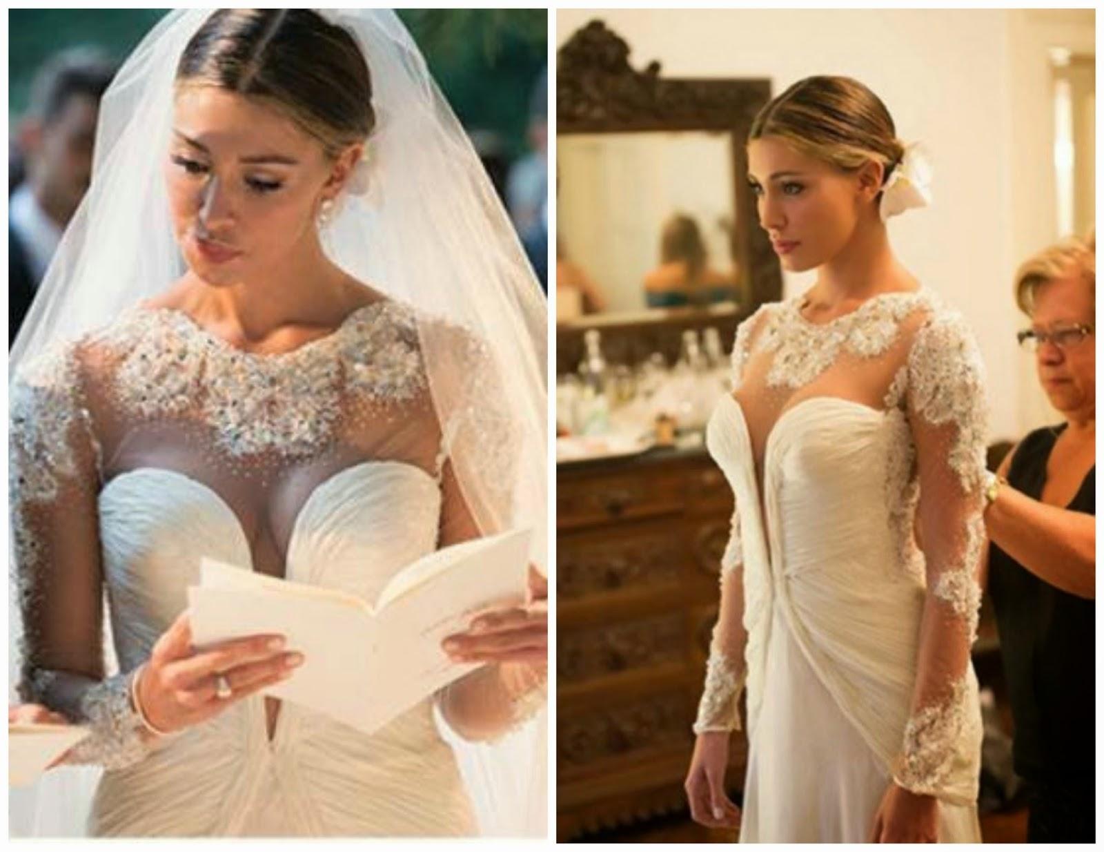 nuovo arrivo 61ce0 f060f Modello abito sposa Belen | Donne Magazine