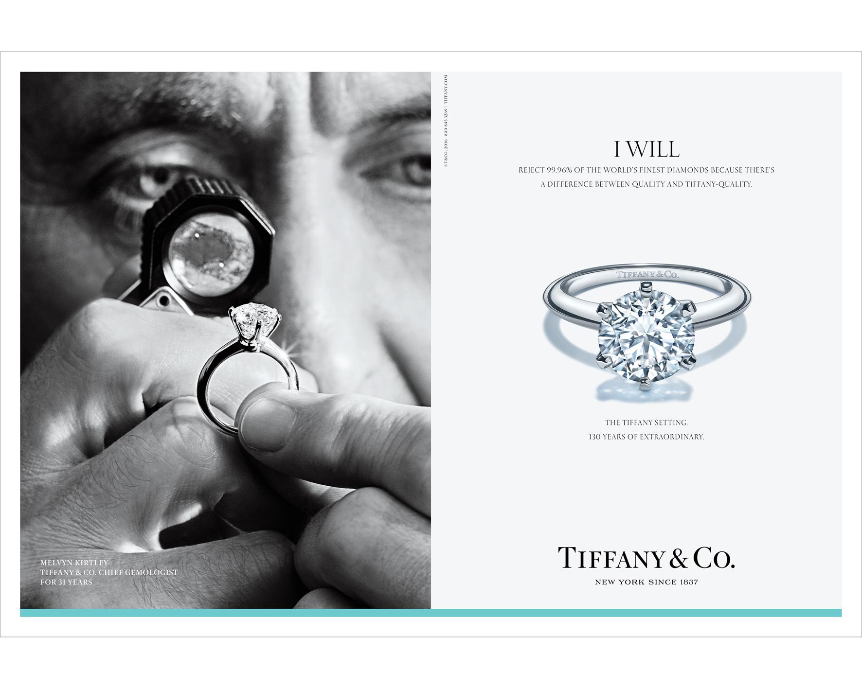 Anelli di fidanzamento Tiffany classici
