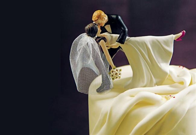 Cinque torte autunnali per matrimonio romantico