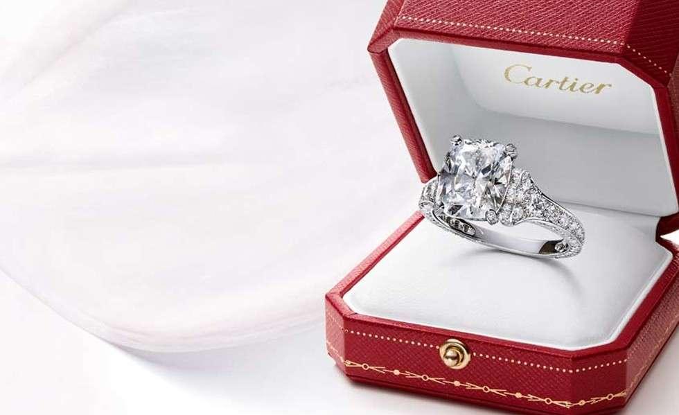 Modelli anelli di fidanzamento Cartier