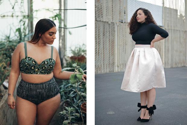 Le fashion blogger tutte curve più influenti del momento